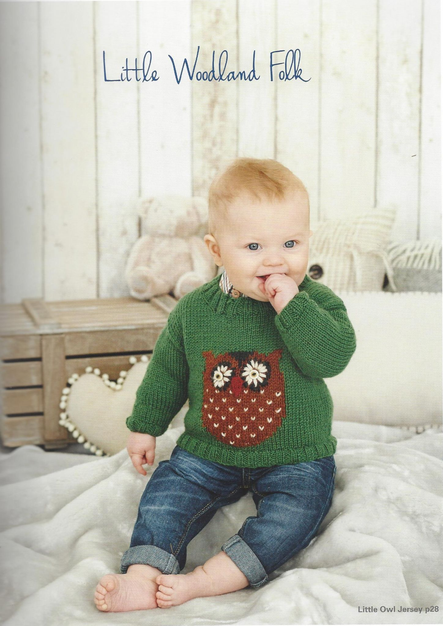 faab8728b g. King Cole Baby Book 6 - 29 Stylish Knits from Birth to 7 Years